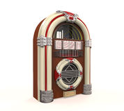 Radio de juke-box d'isolement Photo stock