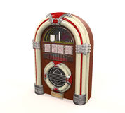 Radio de la máquina tocadiscos aislada Fotos de archivo libres de regalías