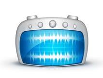 Radio de la onda libre illustration