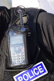 Radio de police de Devon et des Cornouailles Image libre de droits