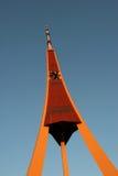 Radio de Riga y torre de la TV imagen de archivo