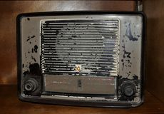 Radio de transistor Images libres de droits