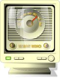 Radio del Internet royalty illustrazione gratis