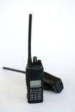 Radio del A mano portatile nel fondo bianco Immagine Stock