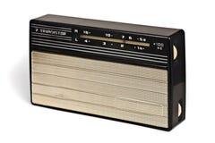 Radio del transistor de la vendimia más recevier Fotos de archivo libres de regalías