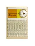 Radio del transistore Fotografie Stock Libere da Diritti