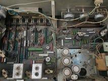 Radio del tubo de vacío del diagrama Foto de archivo