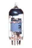 Radio del tubo 1950-60's de Vacum y componente de la televisión Foto de archivo libre de regalías
