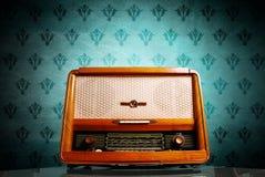 Radio dell'annata Fotografia Stock