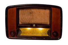 Radio dell'annata immagine stock