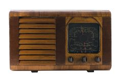 Radio dell'annata Immagini Stock