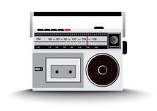 Radio dell'annata Fotografie Stock Libere da Diritti