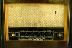 Radio d'annata immagini stock libere da diritti