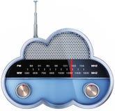 Radio della nuvola Fotografia Stock