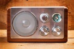 Radio der Weinlese AM/FM Lizenzfreies Stockfoto
