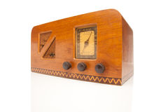 Radio des années 40 de cru Photos stock