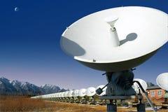 radio det unika sol- teleskop Arkivfoto