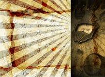 Radio di Grunge Fotografia Stock Libera da Diritti