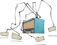 Radio di vettore Fotografie Stock Libere da Diritti