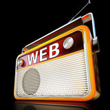Radio di web illustrazione vettoriale