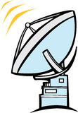 Radio Dish Telescope Stock Photo