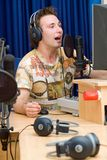 Radio DJ Stock Afbeeldingen