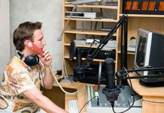Radio DJ Stock Photography