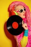 Radio DJ Stock Image