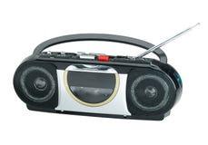 Radio e giocatore del nastro a cassetta Fotografie Stock Libere da Diritti