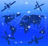 Radio e satellite di tecnologia Fotografie Stock Libere da Diritti
