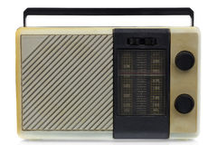 Radio from the eighties Royalty Free Stock Photos