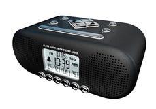 Radio estéreo del despertador Fotos de archivo
