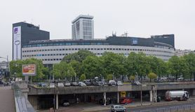 Radio France - ραδιο σπίτι, 116 Πρόεδρος Kennedy Avenue Στο π Στοκ Εικόνα