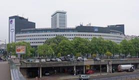 Radio France - casa de radio, 116 presidente Kennedy Avenue En el p Imagen de archivo