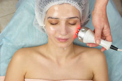 Free Radio Frequency Skin Tightening Device. Stock Photo - 98817170