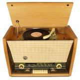 Radio-grammofono dell'annata. Fotografie Stock Libere da Diritti