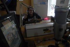 RADIO HET UITZENDEN VAN INDONESIË WERELD Royalty-vrije Stock Fotografie