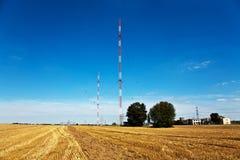 Radio installation in golden acres Stock Images