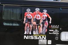 Radio Keet en Advertentie 2011 van Nissan Royalty-vrije Stock Foto