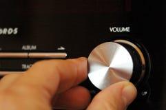 Radio knop Stock Foto's