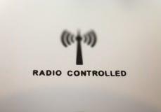 Radio kontrollerade tar tid på Royaltyfri Bild