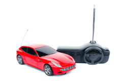Radio kontrolujący zabawkarski samochód Obraz Royalty Free