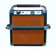 Radio labrada retra Foto de archivo libre de regalías