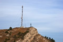 Radio mast Stock Photos