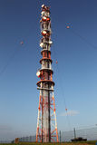 Radio mast Royalty-vrije Stock Foto