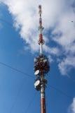 Radio mast Royalty Free Stock Photography