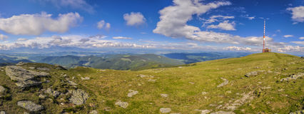Radio mast in Low Tatras Royalty Free Stock Photo