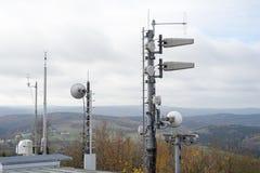 Radio mast Stock Images