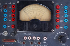 Radio meter - 1940/50s. Close-up Stock Images
