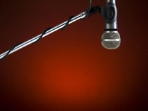 Radio mic Royalty Free Stock Image
